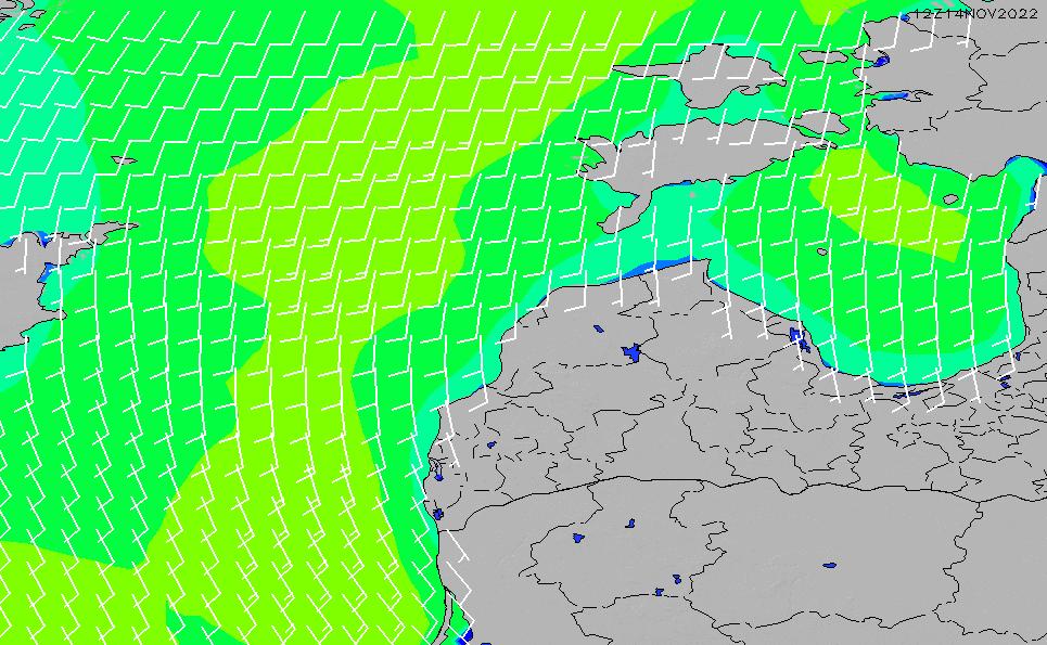 2020/9/28(月)21:00風速・風向