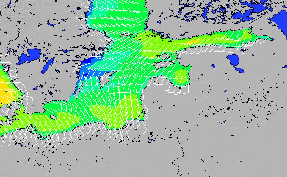 2021/3/2(火)20:00風速・風向