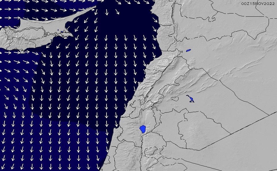 2021/3/2(火)8:00ポイントの波周期
