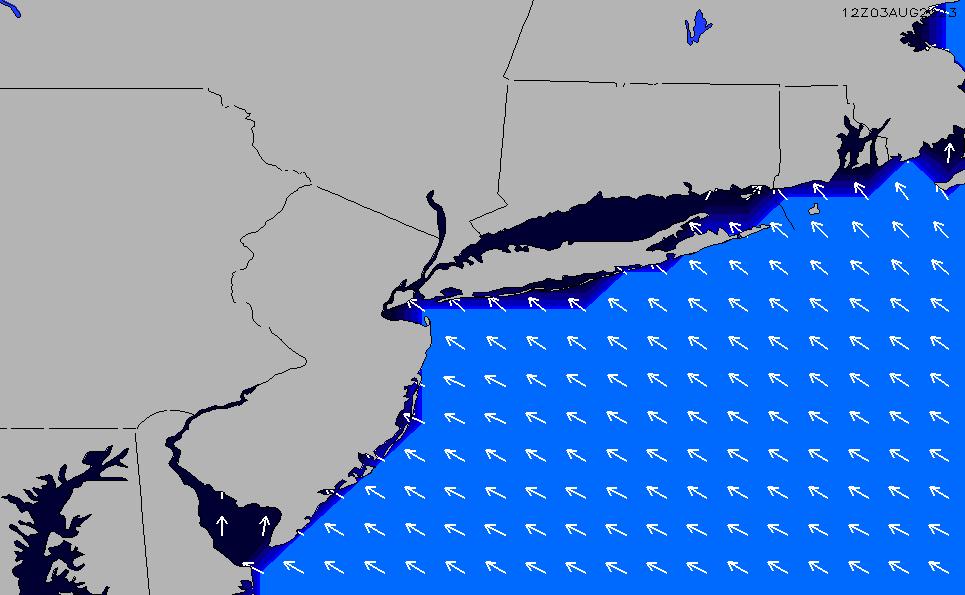 2020/9/30(水)4:00ポイントの波周期