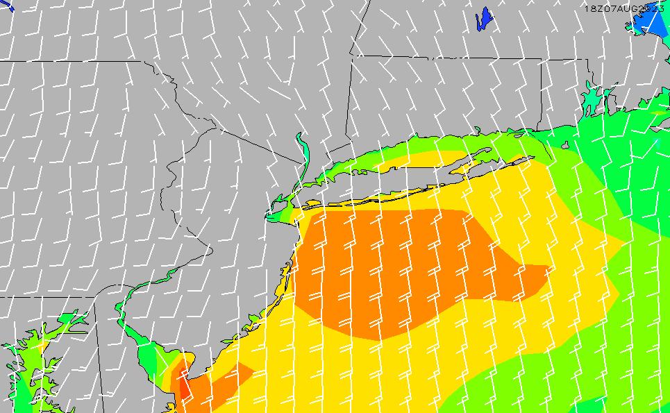 2020/9/28(月)22:00風速・風向