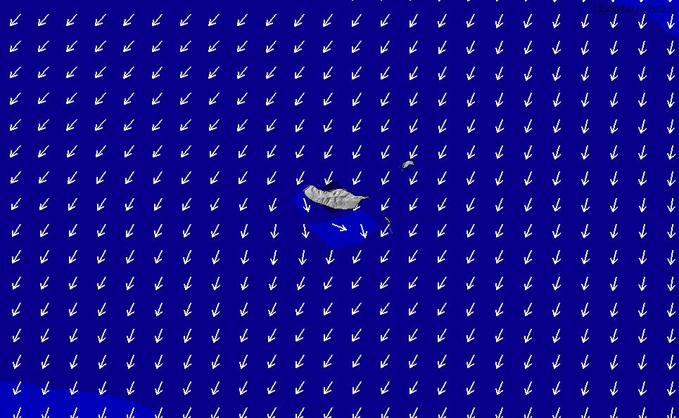 2021/3/2(火)6:00ポイントの波周期