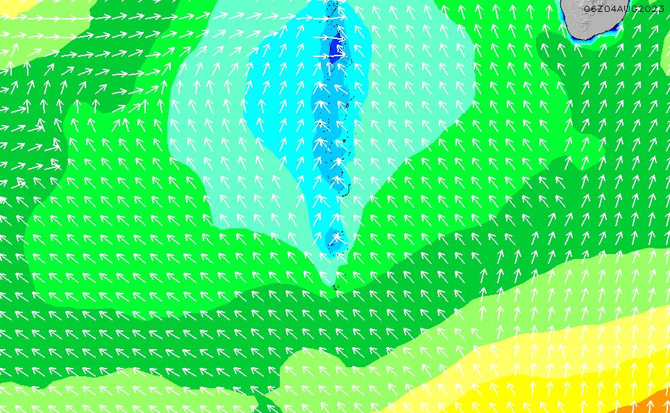 2021/5/9(日)11:00波高チャート