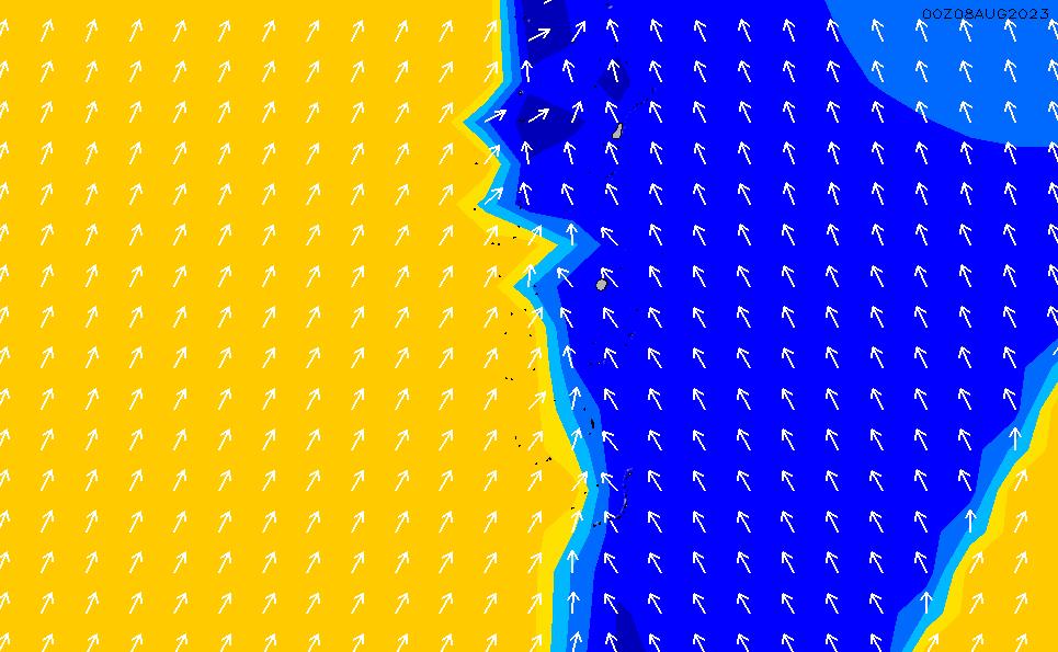 2020/10/1(木)11:00ポイントの波周期