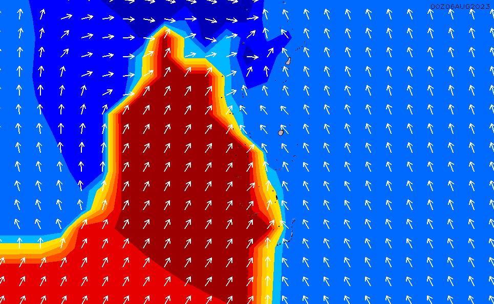 2020/3/29(日)11:00ポイントの波周期