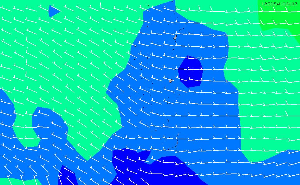 2021/5/9(日)11:00風速・風向