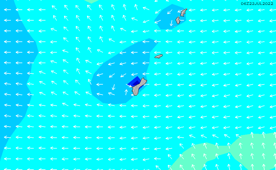 2020/6/5(金)16:00波高チャート