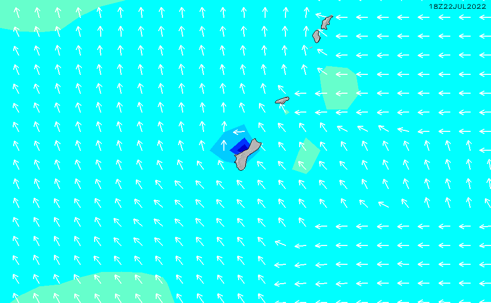 2021/10/18(月)22:00波高チャート