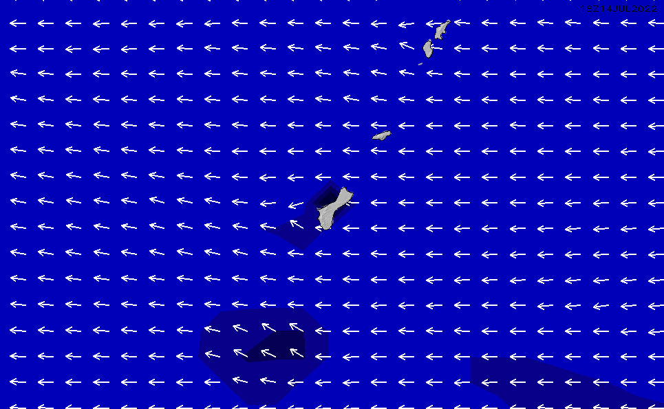 2020/6/5(金)16:00ポイントの波周期