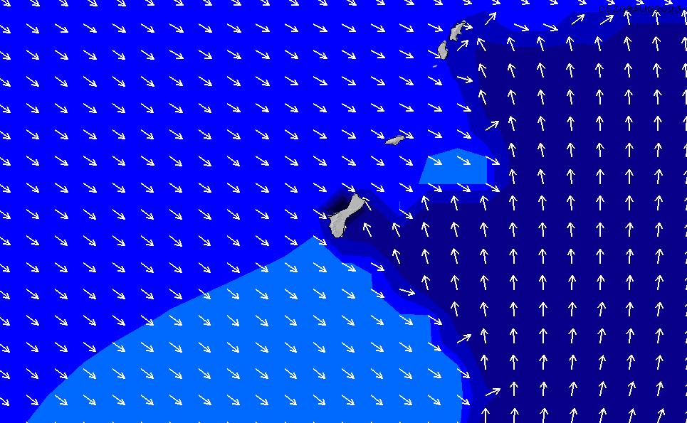 2021/10/18(月)22:00ポイントの波周期