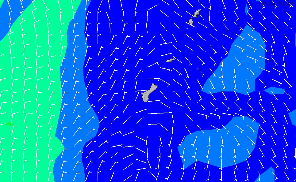 2020/3/29(日)16:00風速・風向