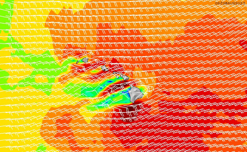 2021/5/9(日)22:00風速・風向