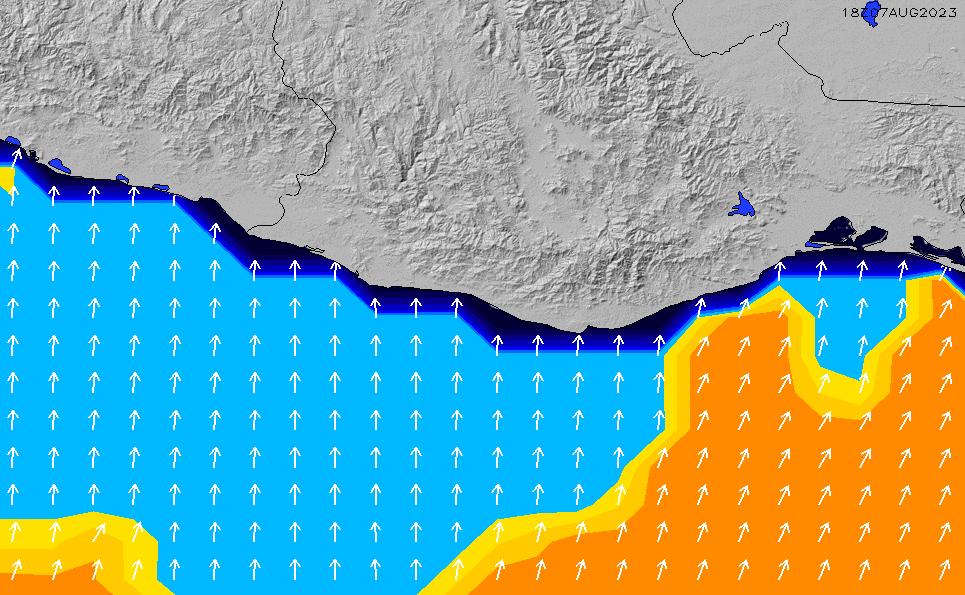 2020/9/26(土)11:00ポイントの波周期