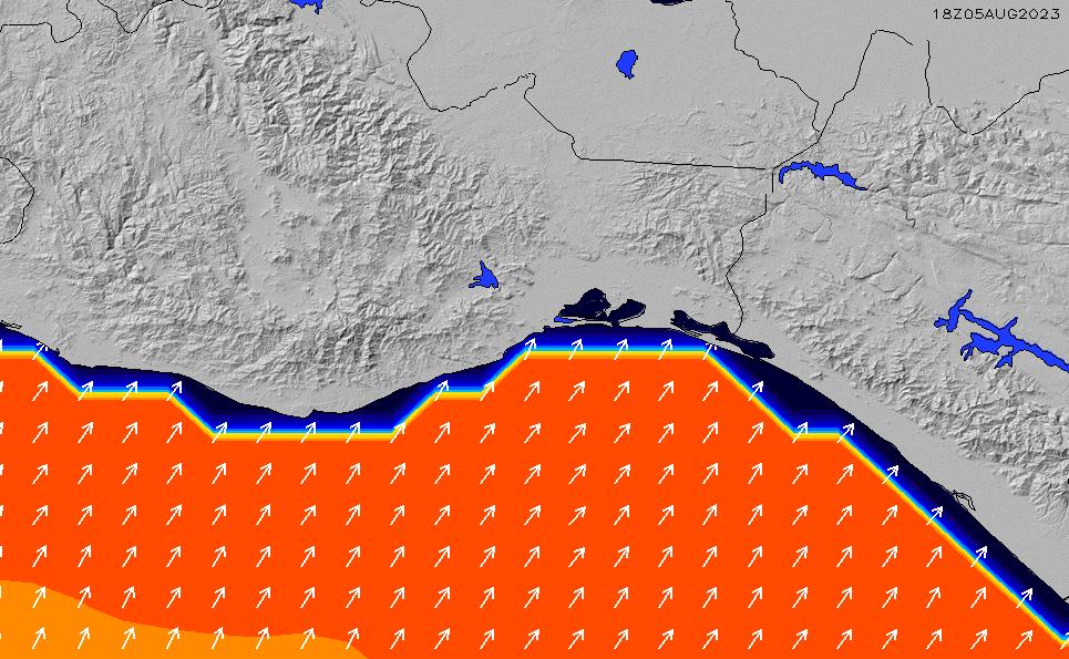 2020/3/31(火)6:00ポイントの波周期
