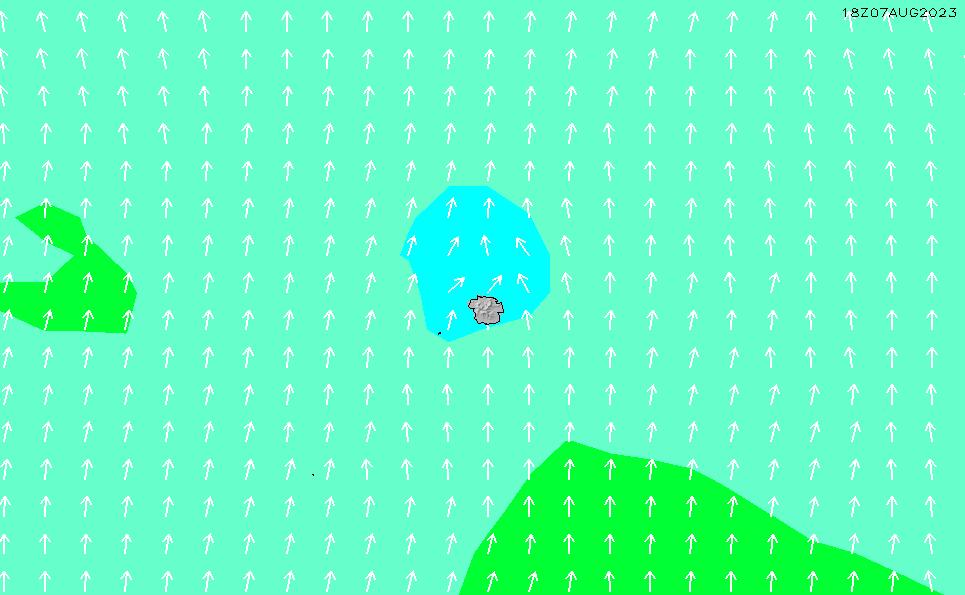 2020/6/5(金)17:00波高チャート