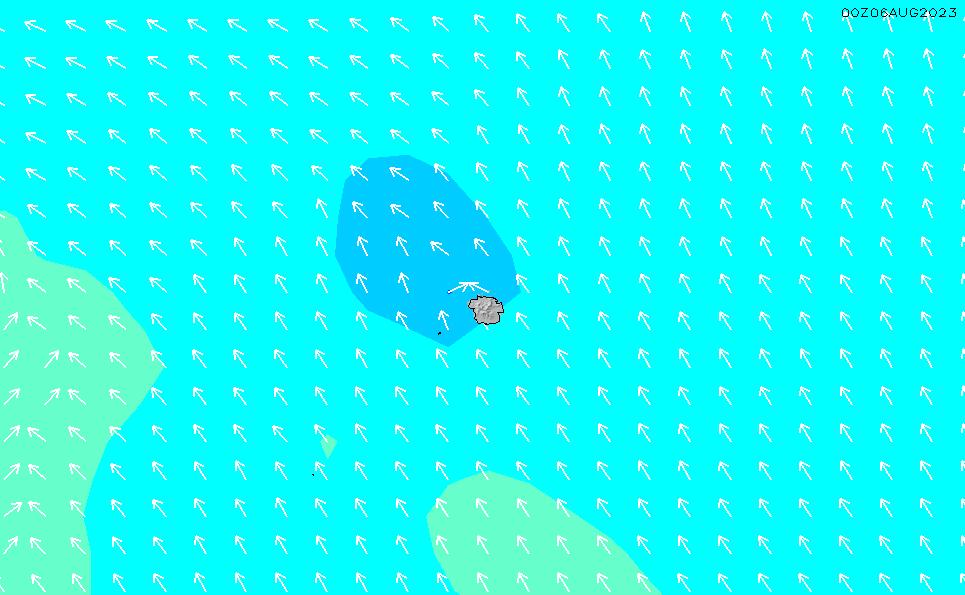 2021/3/2(火)17:00波高チャート