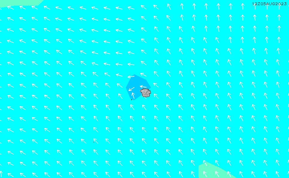 2020/4/2(木)23:00波高チャート