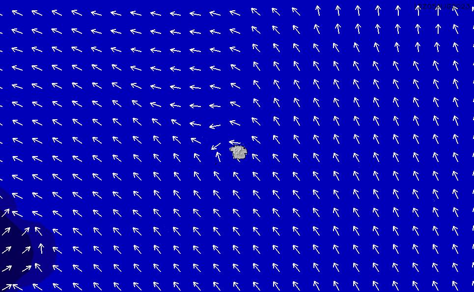2020/6/5(金)17:00ポイントの波周期