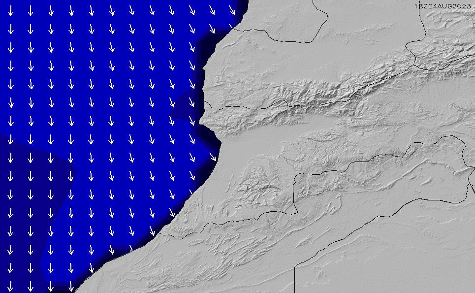 2021/3/10(水)7:00ポイントの波周期