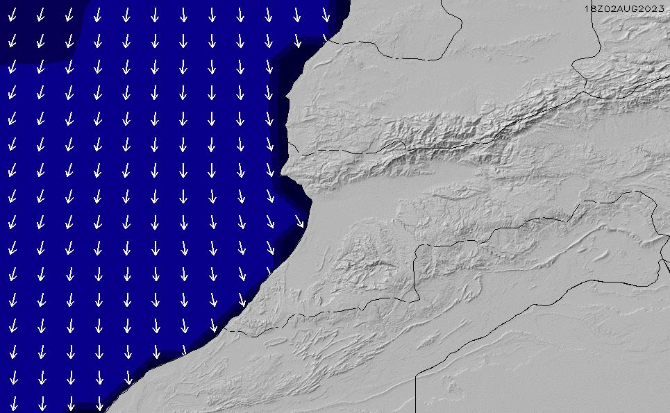 2021/3/8(月)1:00ポイントの波周期
