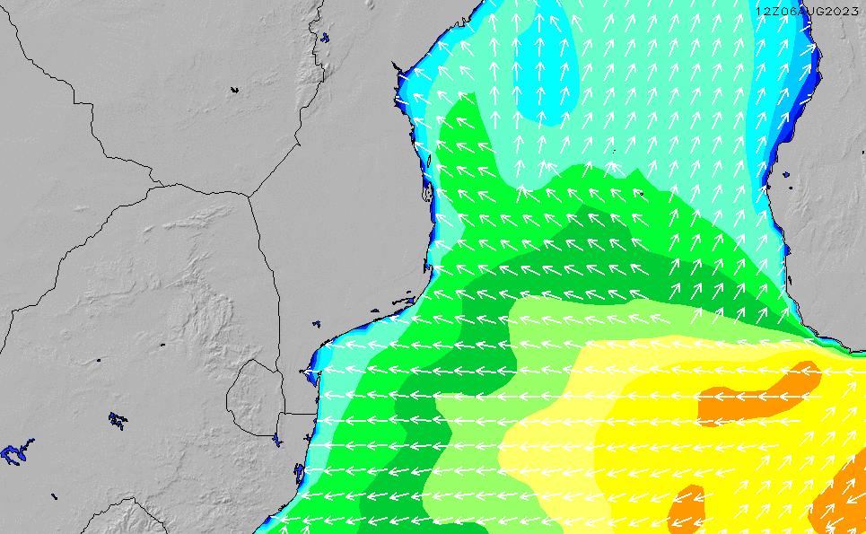 2020/9/23(水)14:00波高チャート