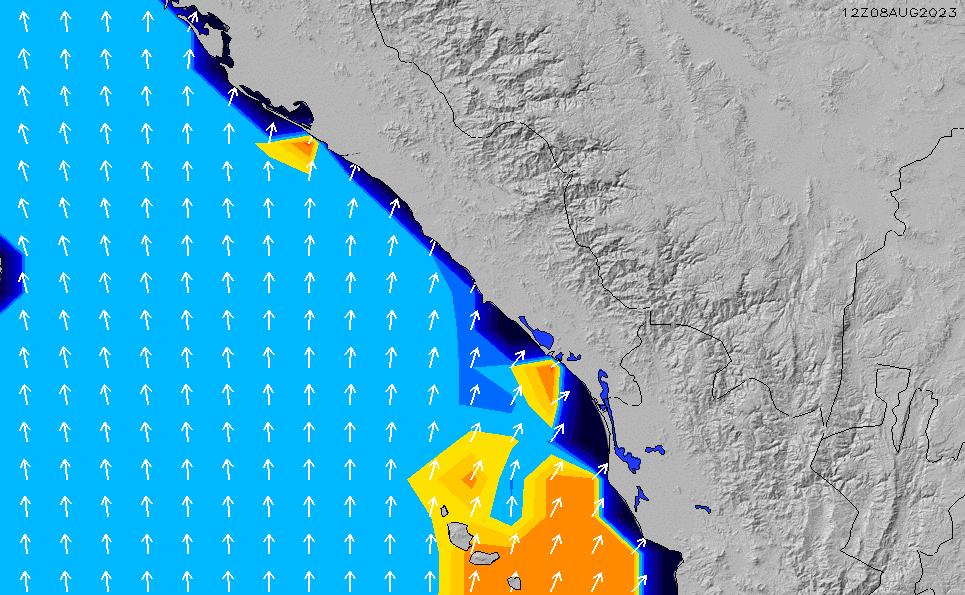 2020/9/30(水)0:00ポイントの波周期