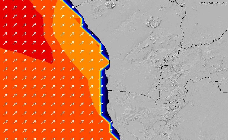 2020/9/23(水)14:00ポイントの波周期