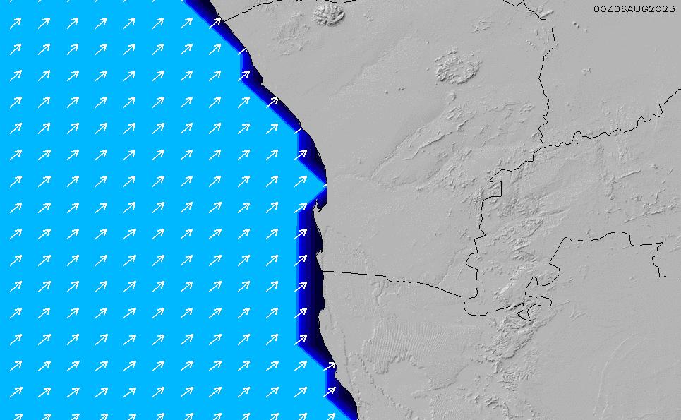 2021/3/10(水)8:00ポイントの波周期
