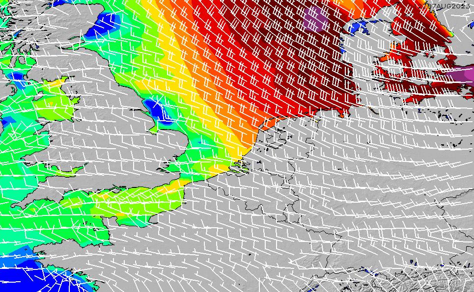 2020/4/1(水)20:00風速・風向