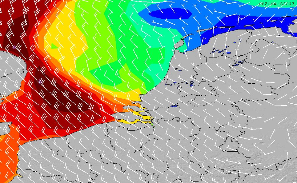 2021/3/2(火)7:00風速・風向