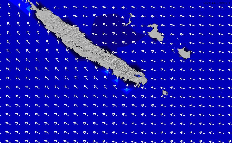 2021/3/4(木)11:00ポイントの波周期