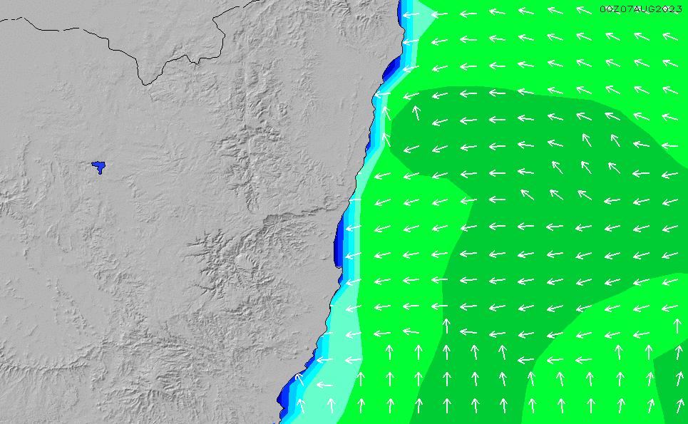 2021/5/12(水)16:00波高チャート
