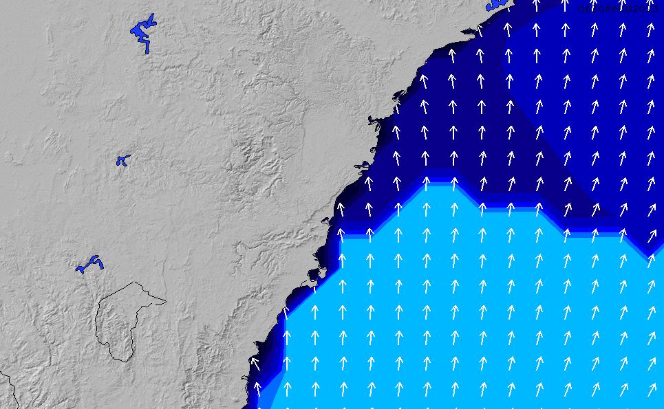 2020/9/30(水)10:00ポイントの波周期