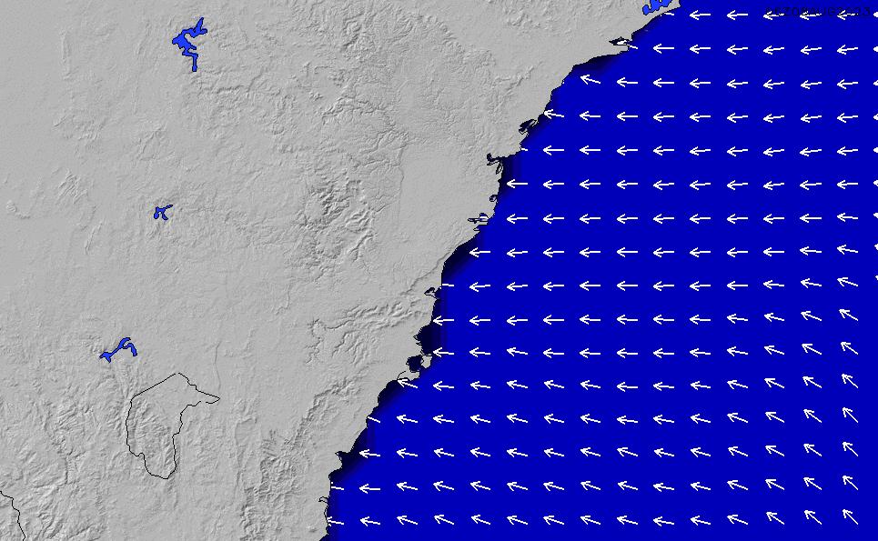 2021/3/10(水)17:00ポイントの波周期