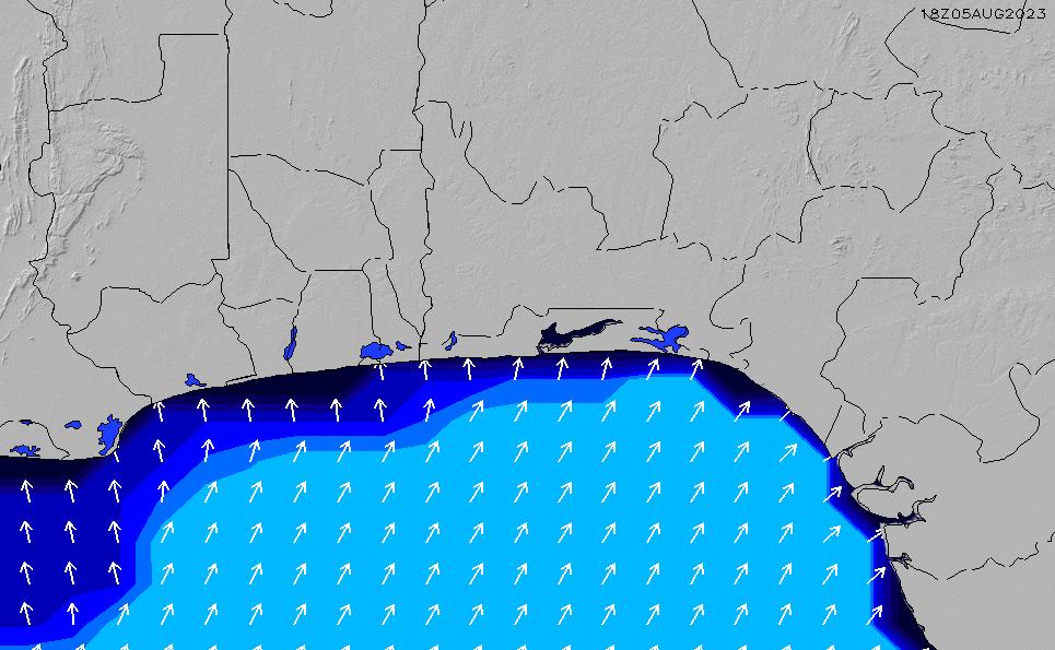 2021/3/2(火)7:00ポイントの波周期