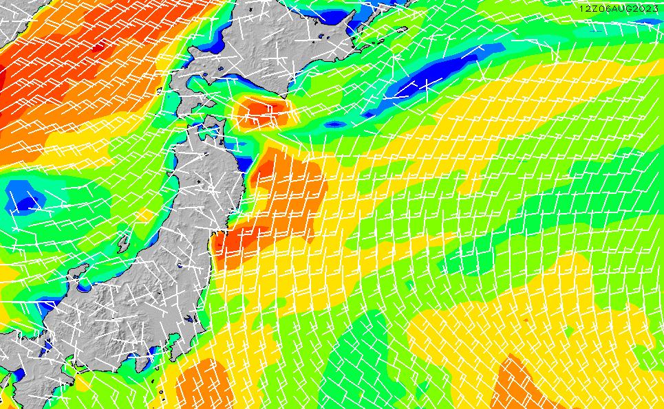 2021/2/28(日)9:00風速・風向
