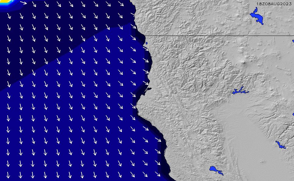 2020/9/21(月)13:00ポイントの波周期