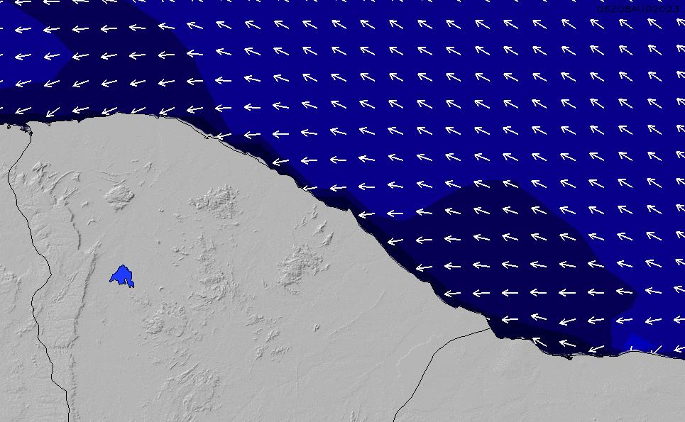 2021/4/11(日)21:00ポイントの波周期