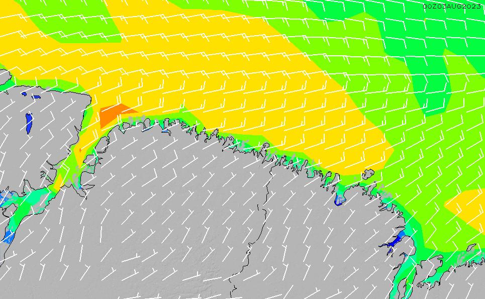 2021/9/18(土)3:00風速・風向
