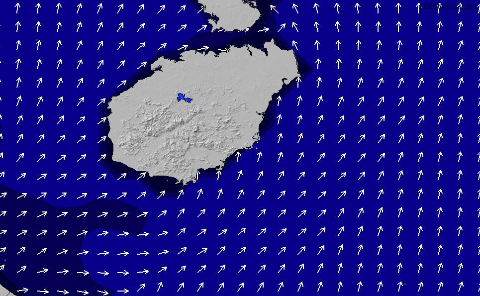 2021/2/25(木)20:00ポイントの波周期