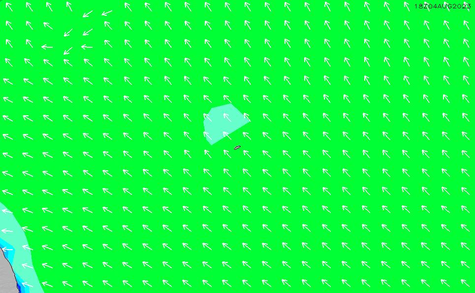 2021/2/28(日)20:00波高チャート