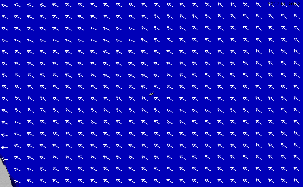 2021/5/12(水)20:00ポイントの波周期