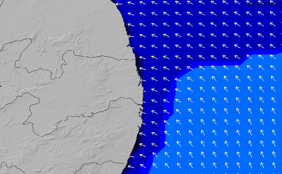 2021/5/12(水)21:00ポイントの波周期