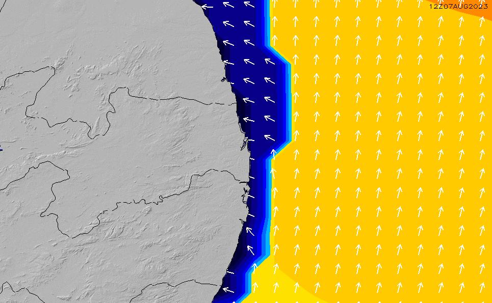 2021/3/10(水)9:00ポイントの波周期