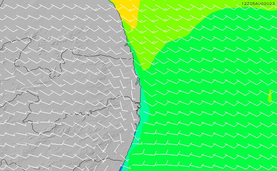 2021/5/14(金)15:00風速・風向