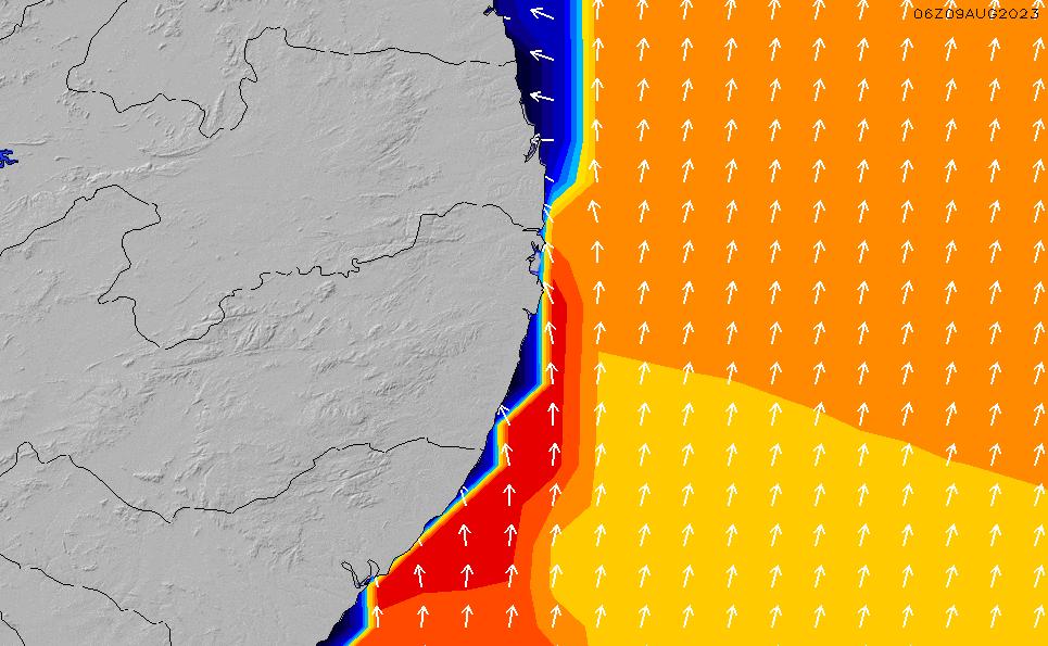 2021/3/2(火)3:00ポイントの波周期