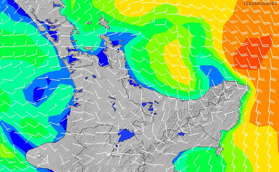 2020/9/28(月)12:00風速・風向