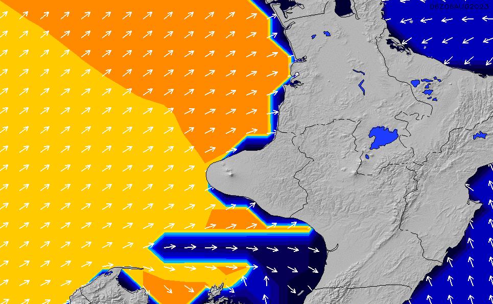 2021/2/28(日)13:00ポイントの波周期