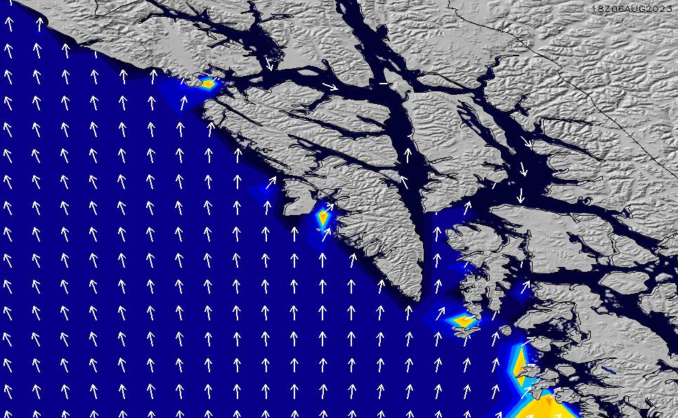 2021/2/28(日)15:00ポイントの波周期