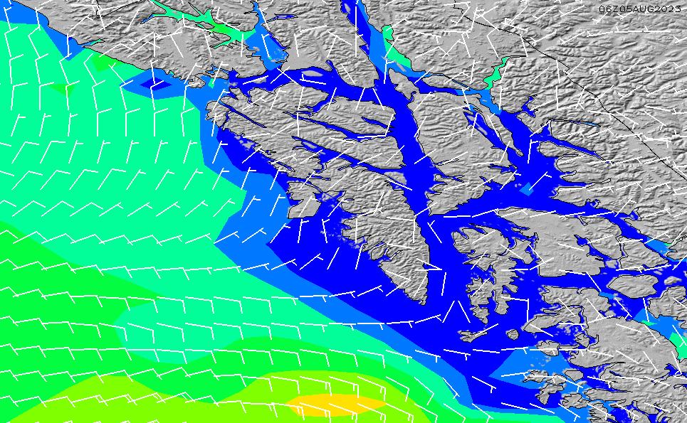 2021/5/10(月)20:00風速・風向